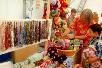 Handcrafted by Melissa offers beautiful scarves!
