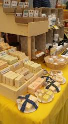 macD's Bees has lots of bath and body products and of course, honey!