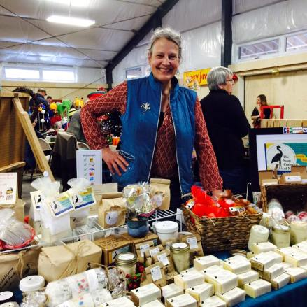 Soap Company of Nova Scotia can be found every week in the Dome. Leigh has a fabulous line of men's products. They make an excellent gift and/or stocking stuffer. Buy a few and take them to the gift wrapping centre to have them put in a basket!