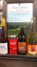 For the cider and wine lover, check out Petite Riviere Winery for a great selection. Christine will be able to help you pick just the right bottle for the lucky recipient!